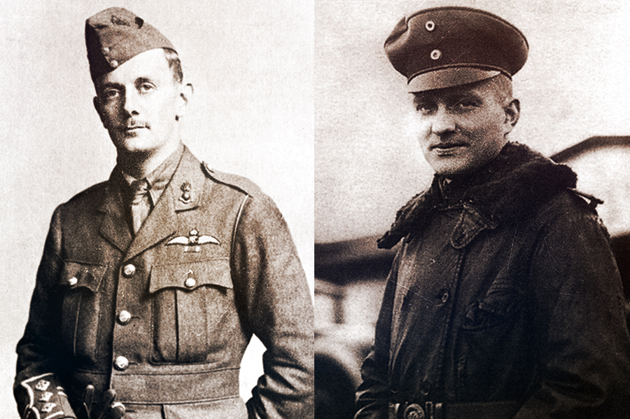 23 Ноября 1916 года: рихтгофен против хокера