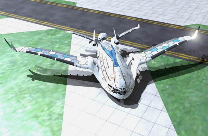 8 Смелых концептов, показывающих, как будут выглядеть самолёты будущего