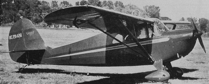 Aeronca 50 chief. технические характеристики. фото.