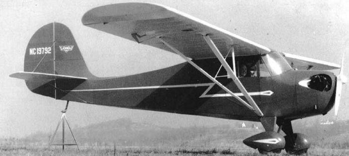Aeronca scout. технические характеристики. фото.