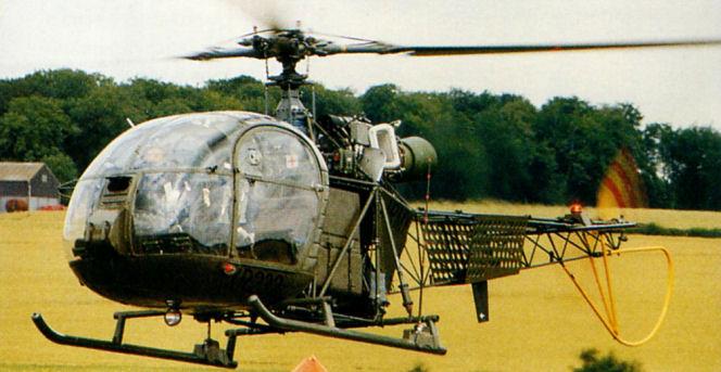 Aerospatiale alouette ii. фото. характеристики. история.