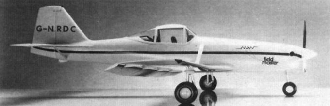 Агроаристократ. сельскохозяйственный и противопожарный самолет ndn-6/nac-6 fieldmaster. великобритания