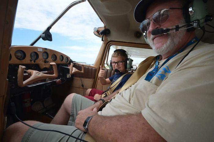 Airventure oshkosh - главное событие года для всех любителей неба