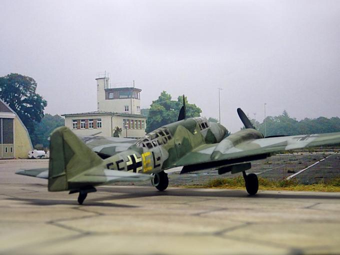 Альтернативные дальние скоростные самолеты-разведчики gotha go 146. германия