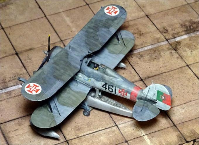 Альтернативные гидросамолеты-истребители gloster gladiator mk.ii hidro. великобритания/португалия