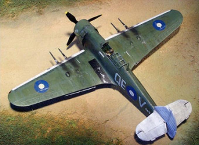 Альтернативные истребители-бомбардировщики ca-14 wachparkk/hawker hurricane mk.vi. австралия/великобритания