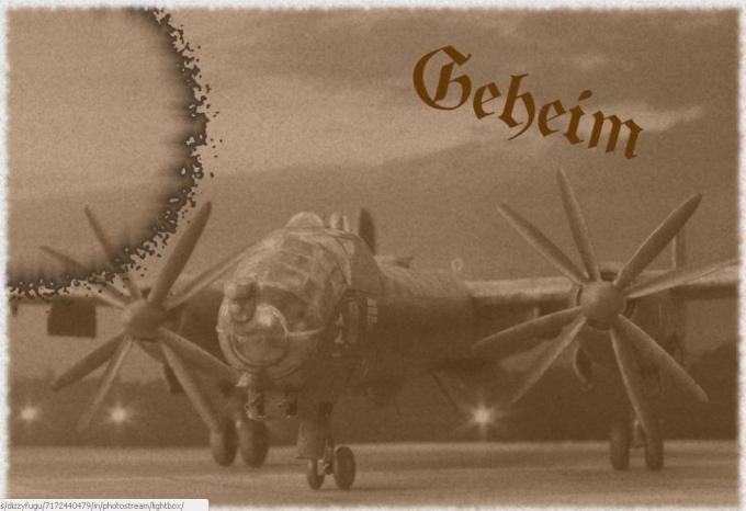 Альтернативные средние бомбардировщики bmw-hutter hu 324. германия
