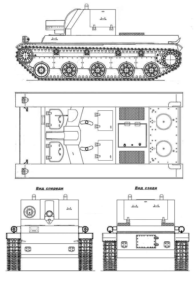 Альтернативные танки ркка образца 1937 года. испытания и запуск в серию