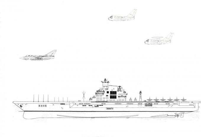 Альтернативный авианесущий крейсер пр. 1160