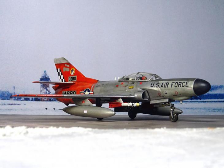 Альтернативный истребитель-перехватчик lockheed f-94e super starfire. сша