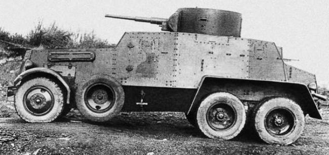 Альтернативный колёсный танк ба-11