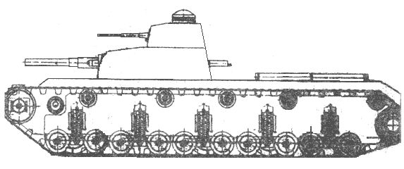 Альтернативный первый позиционный танк ркка