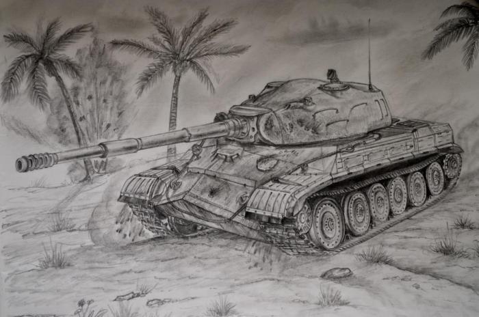 Альтернативный танк объект 280 «комсомолец». ссср