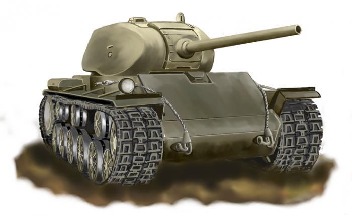 Альтернативный тяжелый танк кв-85 выпуска 1941г. ссср