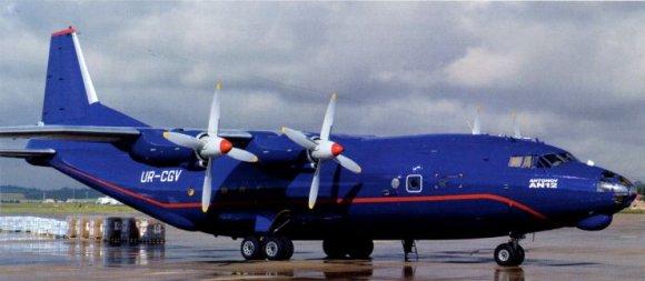 Ан-12. гражданская эксплуатация