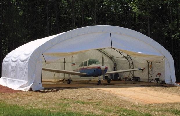 Ангарные ворота своими руками – надежные стражи самолета