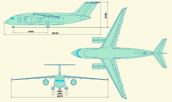 Антонов ан-168. фото, история и характеристики самолета.