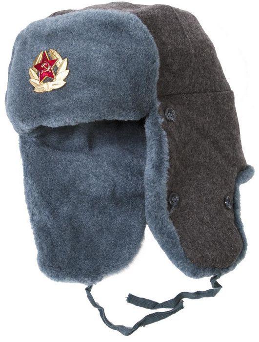 Армейская шапка-ушанка