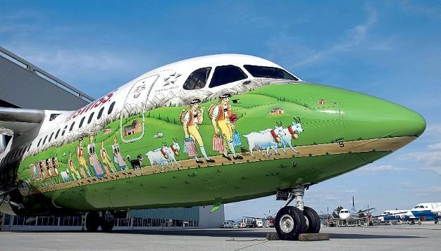 Авиа ливреи. история раскраски самолётов