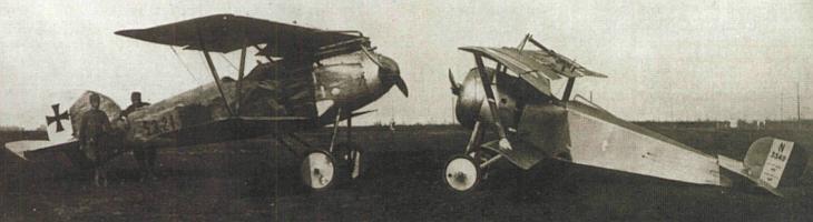 Авиация первой мировой войны: эволюция истребителя