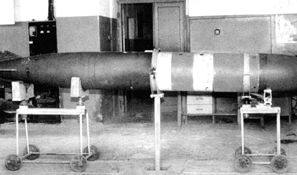 Авиационная противолодочная торпеда ат-1 (плат-1).