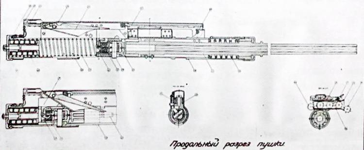 Авиационная пушка владимирова в-20/в-23