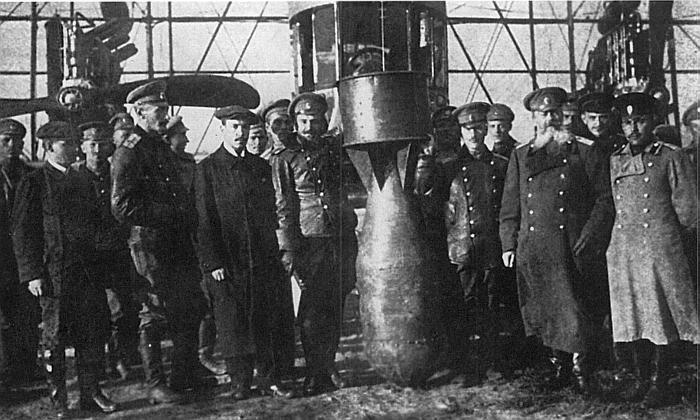 Авиационное вооружение русских самолетов времен первой мировой войны