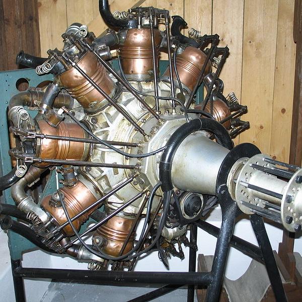 Авиационные, звездообразные двигатели стационарного типа с водяным охлаждением «salmson» (сальмсон).