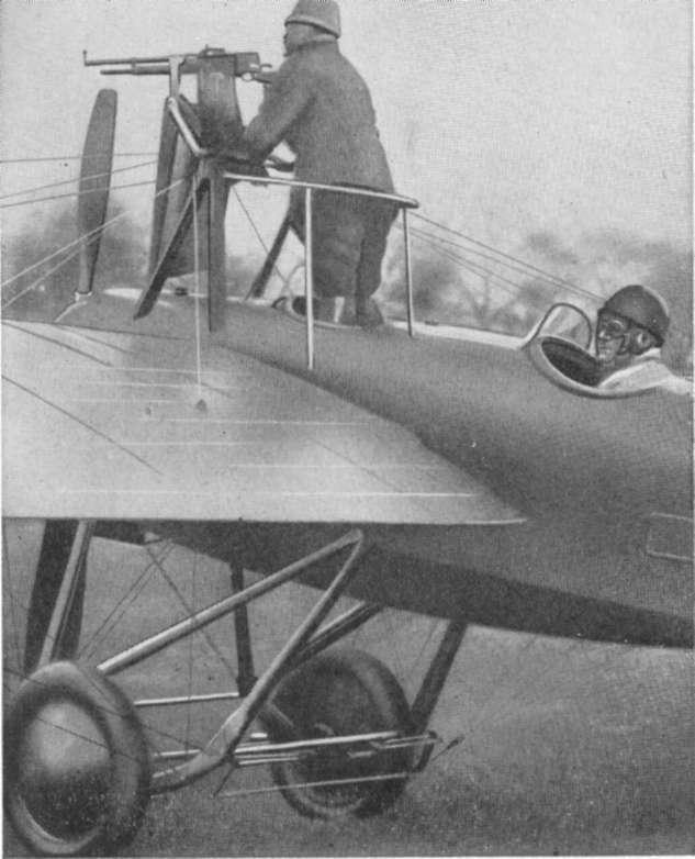 Авиационный гочкисс. пулеметы hotchkiss mle 1909 и mle 1914 в armee de l'air'air (Пулемет Hotchkiss 1909, пулеметом Hotchkiss 1909)'air