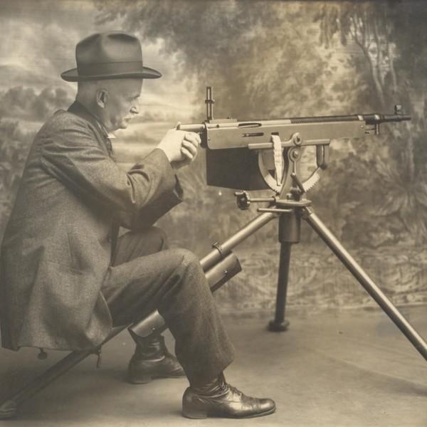 Авиационный пулемет colt-browning 1895/1914.