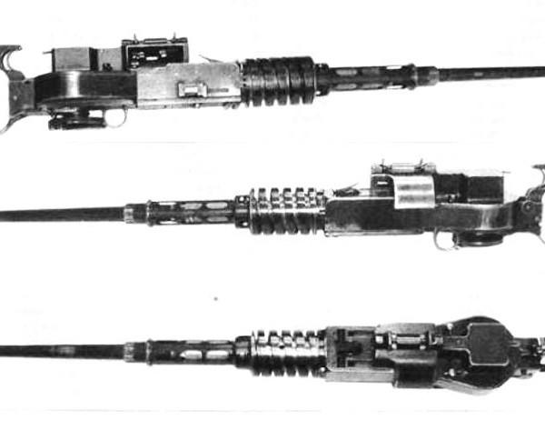 Авиационный пулемет ю-7,62.