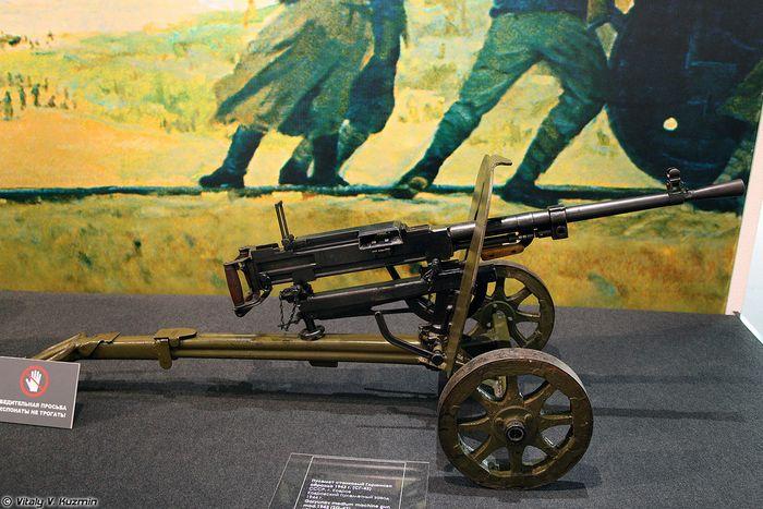 Авиационный пулемет пв-1.