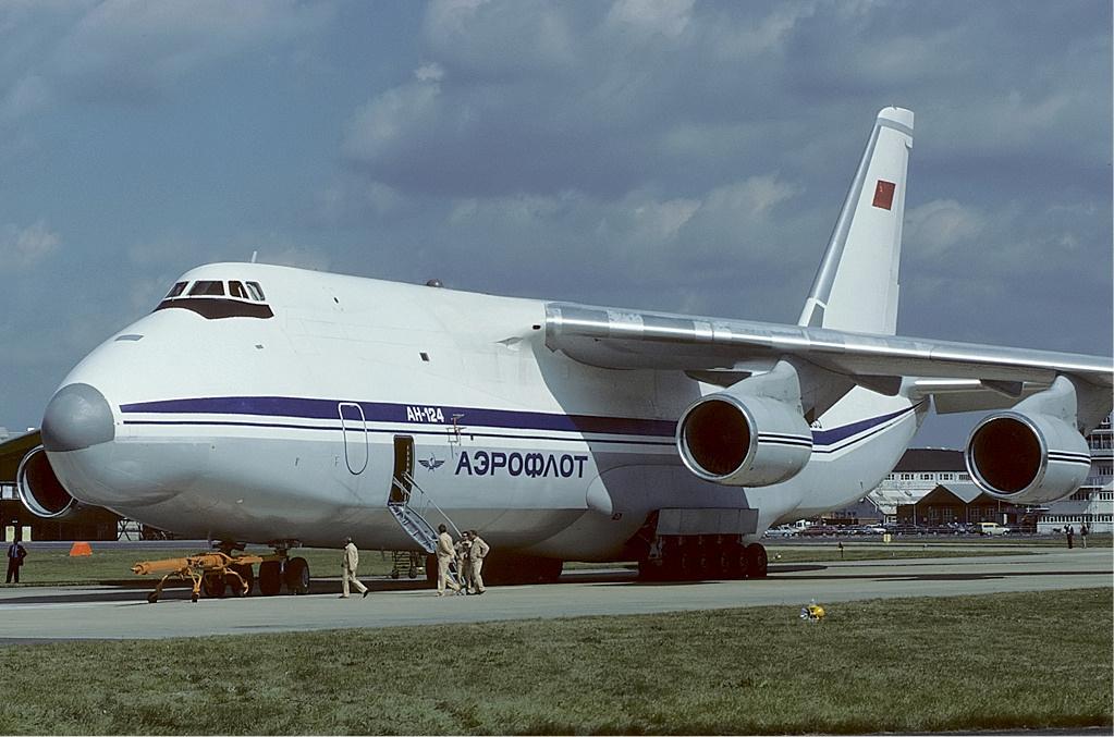 Авиакатастрофа ан-124-100 в турине. 1996