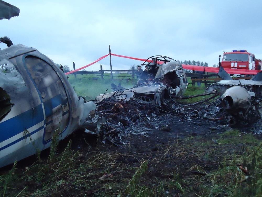 Авиакатастрофа ан-24рв в районе аэропорта игарки. 2010