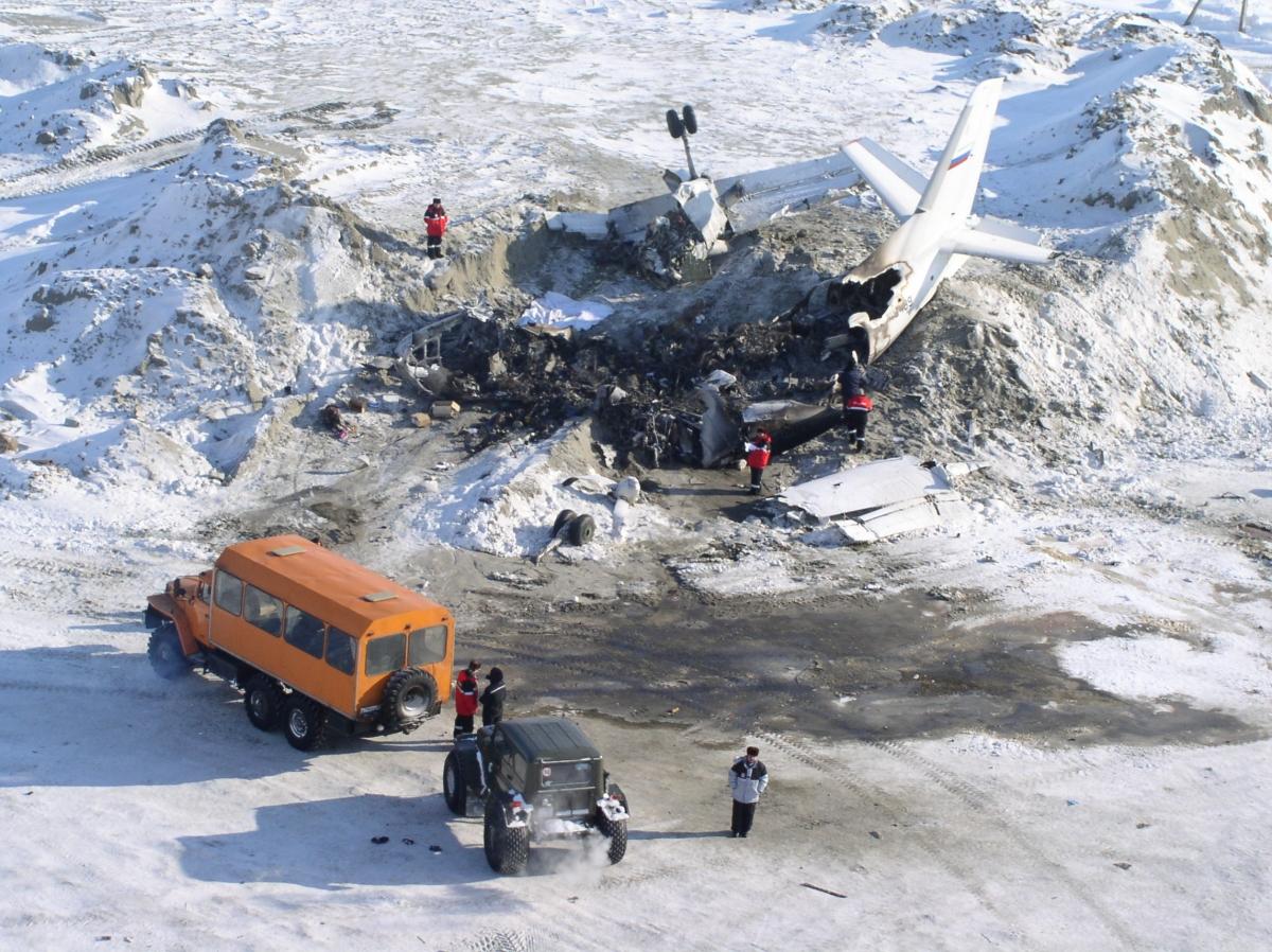 Авиакатастрофа ан-24рв в районе пос.варандей. 2005