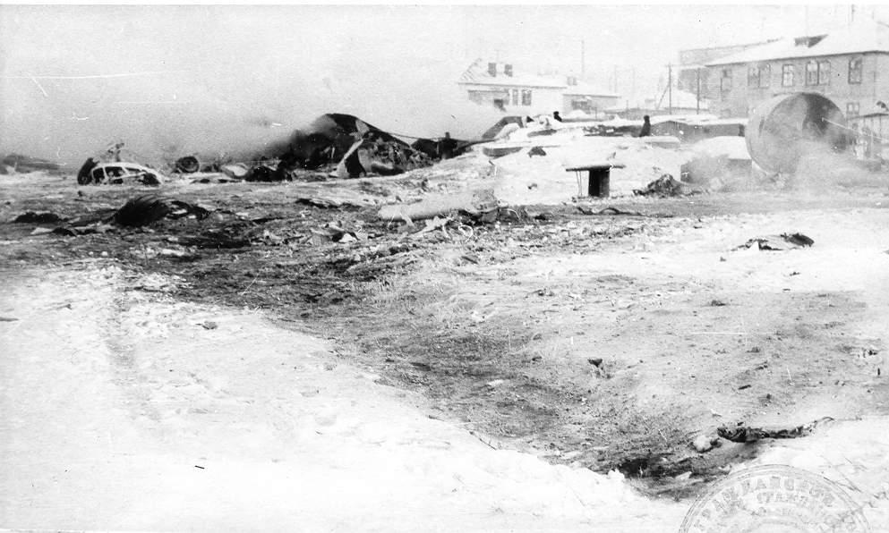 Авиакатастрофа ан-26 в аэропорту черский. 1978