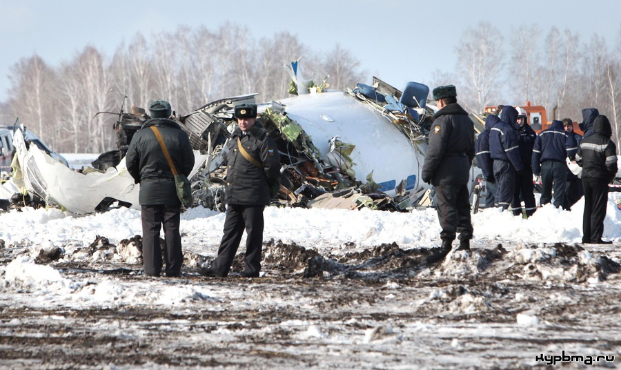 Авиакатастрофа atr-72 близ аэропорта тюмень (рощино). 2012