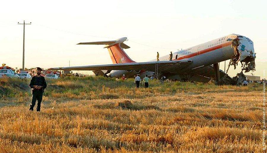 Авиакатастрофа ил-62м в мешхеде (иран). 2009
