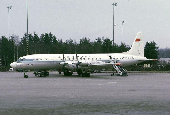 Авиакатастрофа як-40 близ аэропорта вологда. 1979