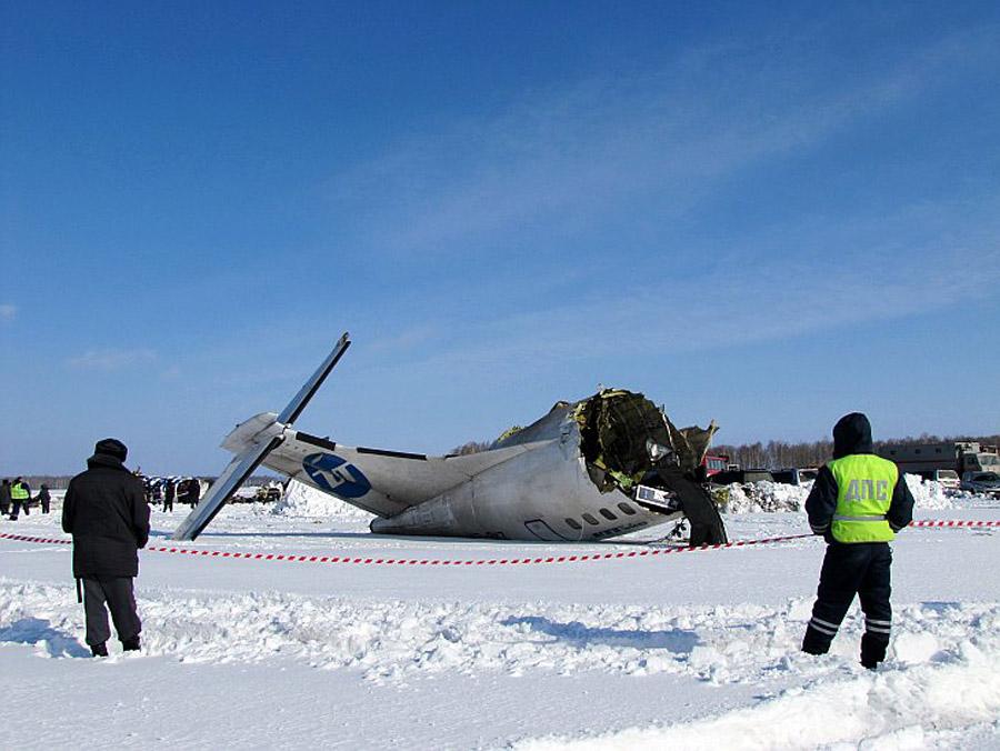 Авиакатастрофа як-40к в аэропорту ханты-мансийска. 1996