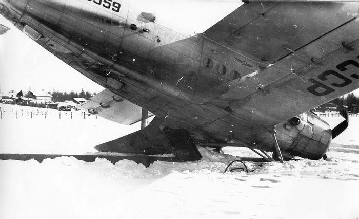 Авиакатастрофа ту-124в в тамбовской области. 1979