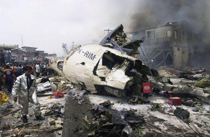 Авиакатастрофа ту-134а в аэропорту лагос-муртала. 1995