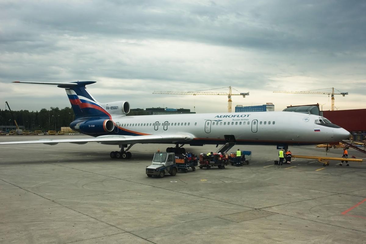 Авиакатастрофа ту-154б-2 в районе г.красноярск. 1984