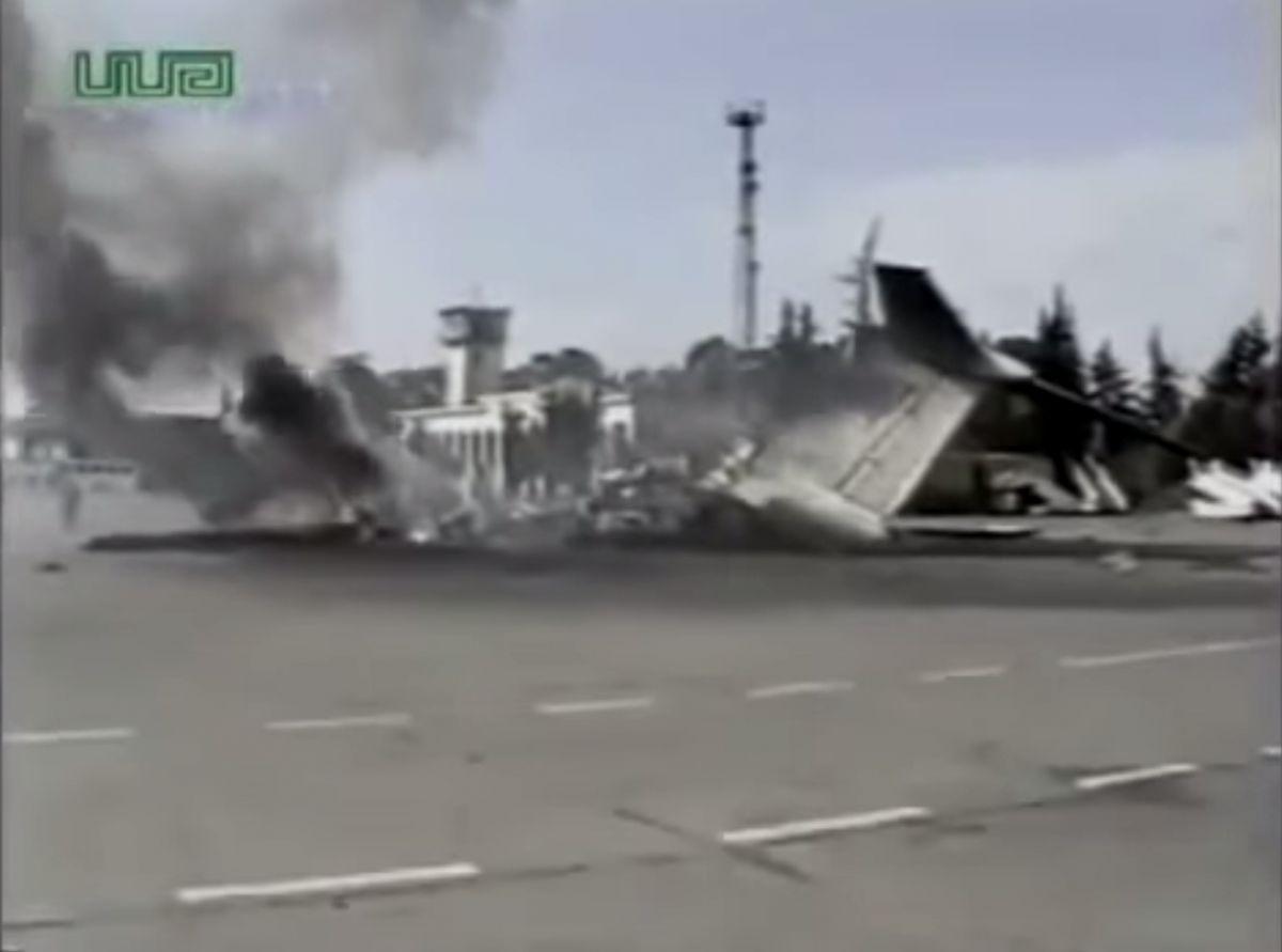 Авиакатастрофа ту-154б в аэропорту тбилиси. 1992