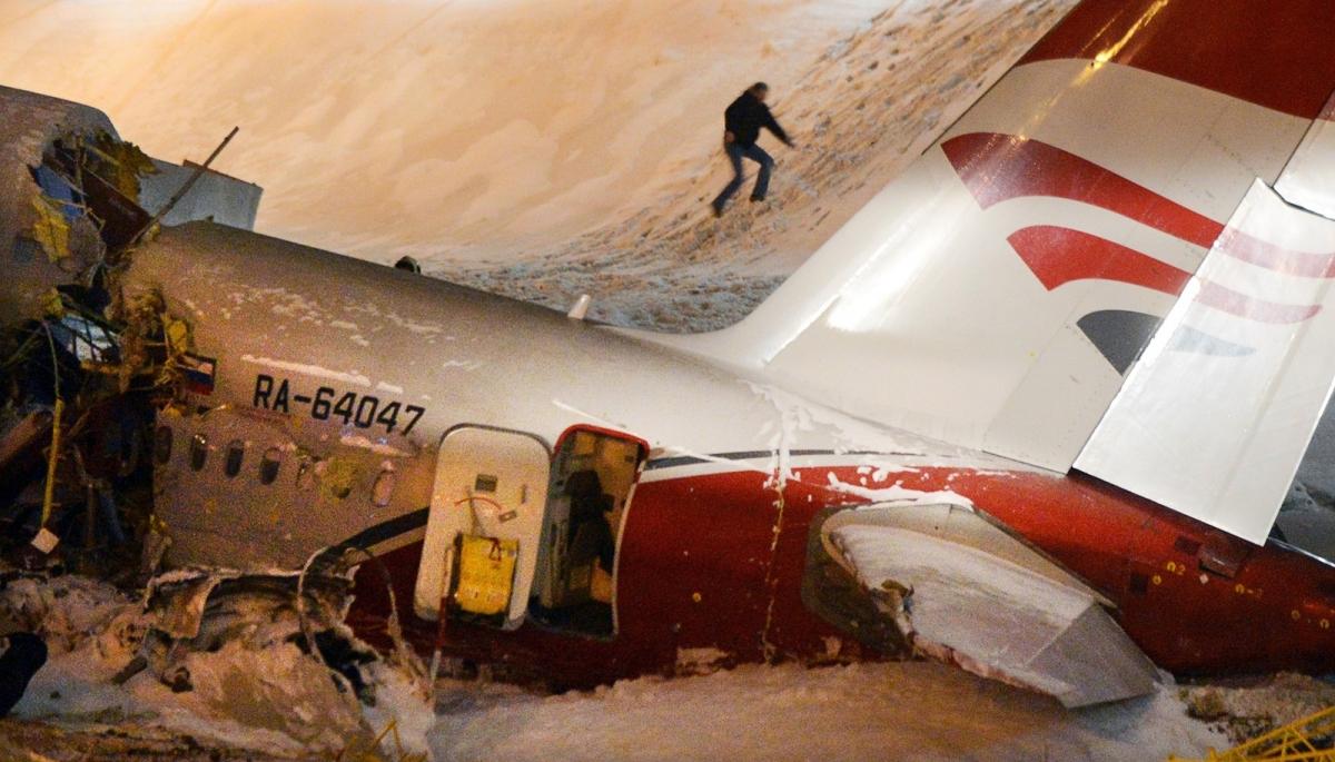 Авиакатастрофа ту-204 в аэропорту внуково. 2012