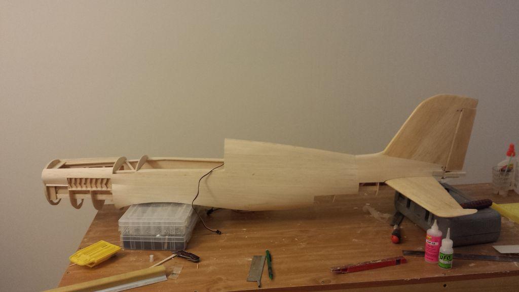 Авиамодель ч. 8. изготовление фюзеляжа