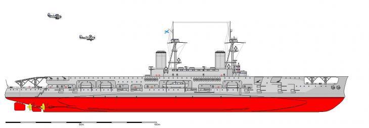 Авианосец «адмирал непенин». россия
