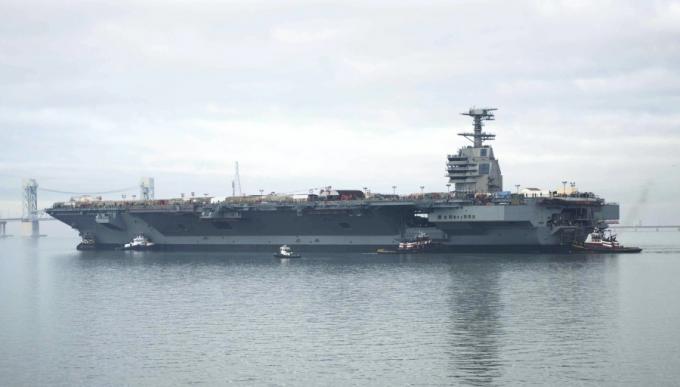 Авианосец сша нового поколения. революция в военно-морском деле: авианосец сша с электромагнитной катапультой