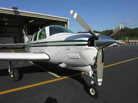 Beechcraft 36 bonanza. технические характеристики. фото.