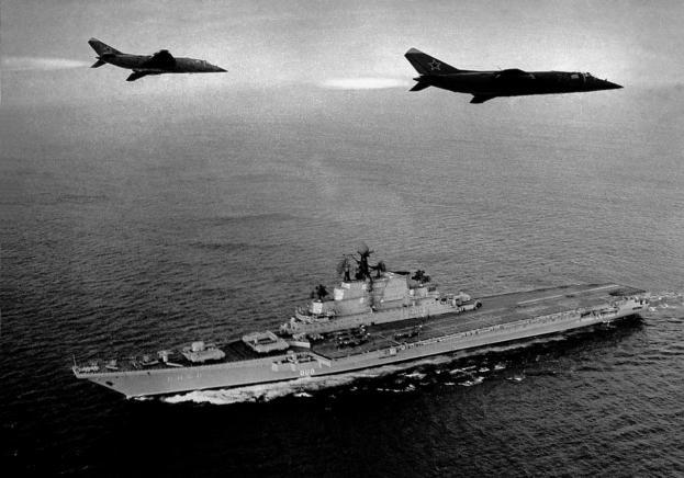 Белые пятна отечественного авианосостроения